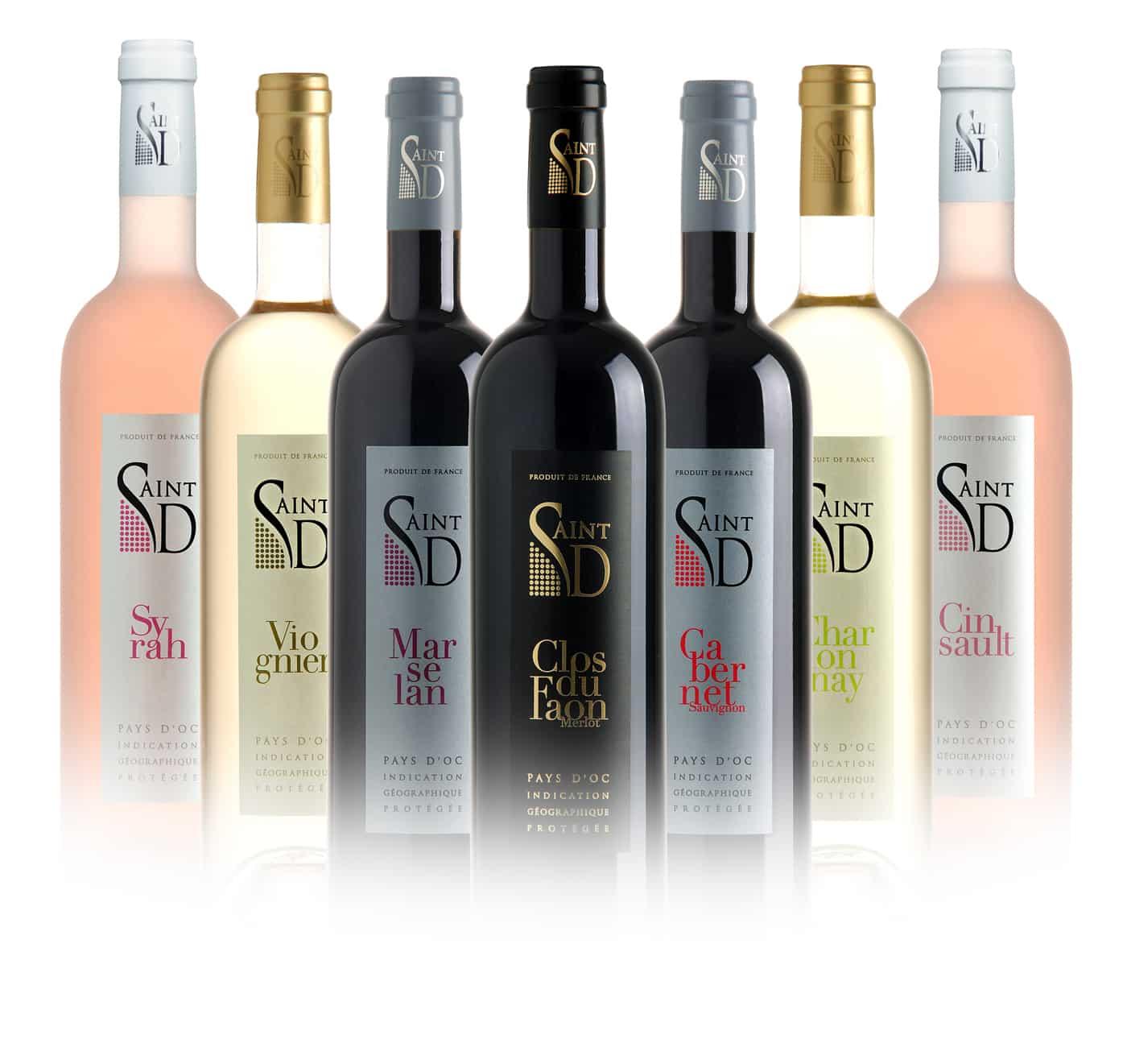 gamme vin saintD